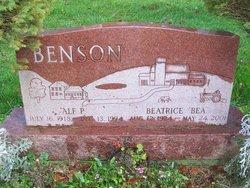 "Beatrice ""Bea"" <I>Bice</I> Benson"
