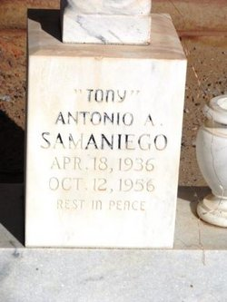 "Antionio A ""Tony"" Samaniego"