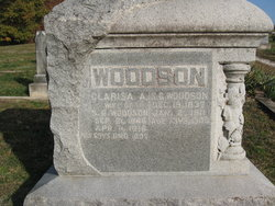 Clarisa Ann <I>Thompson</I> Woodson