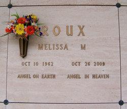 Melissa Marie <I>Kortzendorf</I> Roux