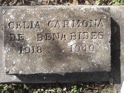 Cecila <I>Carmona</I> De Benabides