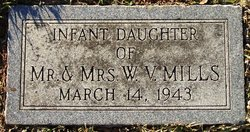 Infant Daughter Mills