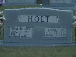 June <I>Barker</I> Holt
