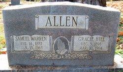 Gracie <I>Hill</I> Allen