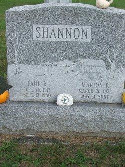 Marion Pearl <I>Smith</I> Shannon