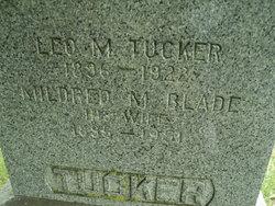 Mildred M <I>Blade</I> Tucker
