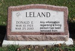 Donald E. Leland