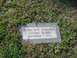 Linda Lou <I>Robinson</I> Johnson