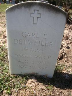 Carl E Detweiler
