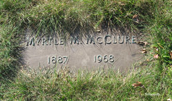 Myrtle May <I>Cline</I> McClure