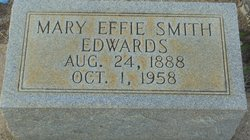 Mary Effie <I>Smith</I> Edwards