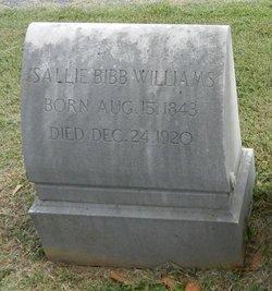 Sallie Bibb Williams