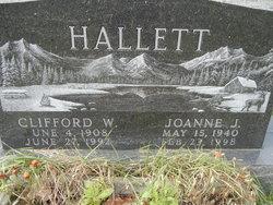 Joanne J Hallett