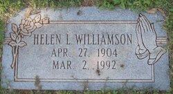 Helen L Williamson