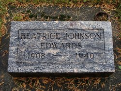 Beatrice <I>Johnson</I> Edwards