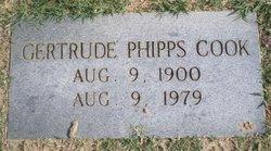 Gertrude Flora <I>Phipps</I> Cook