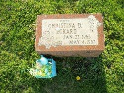 Christina D Eckard
