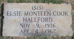 Elsie Monteen <I>Cook</I> Hallford