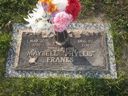 """Maybell """"Phyllis"""" Franks"""