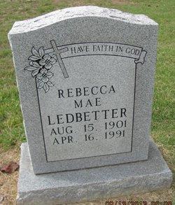 Rebecca Mae <I>Ross</I> Ledbetter