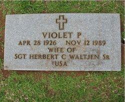 Violet P Waltjen