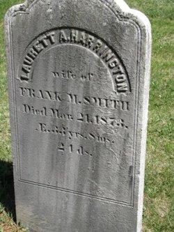 Laurett A <I>Harrington</I> Smith