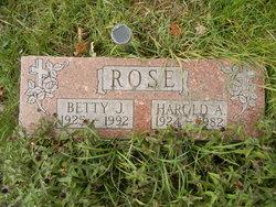 Betty J Rose