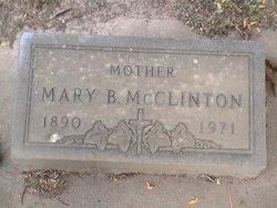 Mary B McClinton