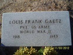 Louis Frank Gaetz