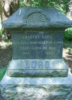 Electa E. <I>Lloyd</I> Lord