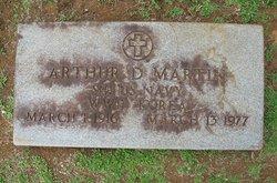 Arthur D Martin