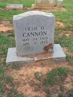 Lillie D Cannon
