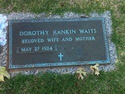 Dorothy <I>Rankin</I> Waits