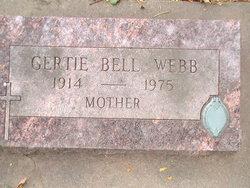 Gertie Bell Webb