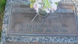 """Helen Viola """"Vi"""" <I>Larsen</I> Lee"""