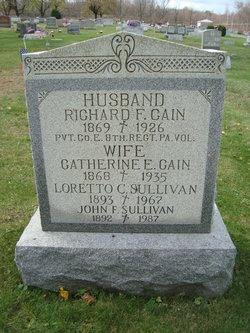 Catherine E <I>Maloney</I> Cain