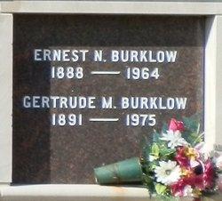 Gertrude M. Burklow