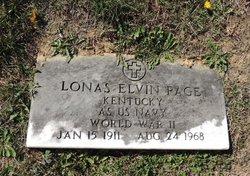 Lonas Elvin Page
