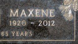 Maxene M. <I>Agee</I> Nelson