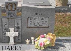 Bertie Mae <I>Baxter</I> Harry