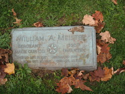 Sgt William A. Meister