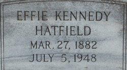 Effie <I>Kennedy</I> Hatfield