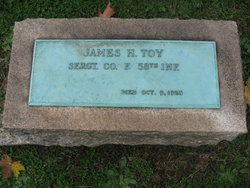 Sgt James H. Toy
