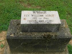 "Rev William F ""Willie"" Abbott"