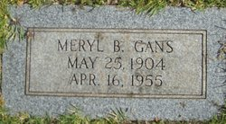 Meryl B Gans