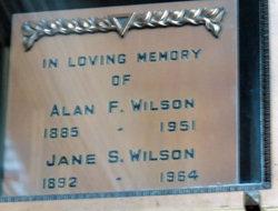 Alan F Wilson