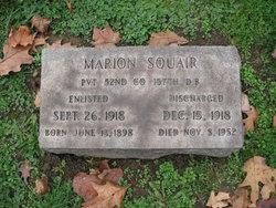Pvt Marion Squair