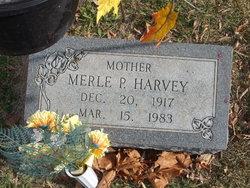 Merle P Harvey