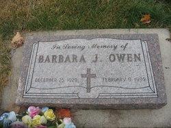 Barbara Jeanne <I>Mahanke</I> Owen