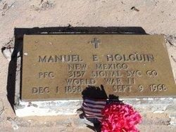 Manuel E Holguin